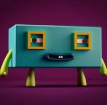 """Mascota para el segundo proyecto de """"Introducción exprés al 3D: de cero a render con Cinema 4D"""" :D. A 3D project by Mario Galan Manzano - 03-01-2017"""