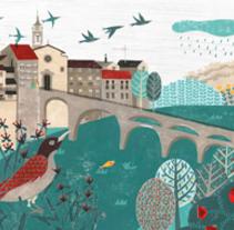 L'univers poètic de Miquel Martí i Pol. Un proyecto de Ilustración de Dàlia Adillon - 05-01-2017