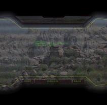 Simulación de visión con binoculares (Ciencia ficción). A Animation, and Post-Production project by Daniel Rodríguez Lucas         - 08.01.2017