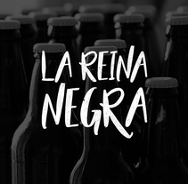 La Reina Negra. A Design, Br, ing, Identit, and Graphic Design project by Carreare Design - Jan 14 2017 12:00 AM