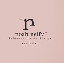 Noah Nelfy Brand & Editorial. Um projeto de Br, ing e Identidade, Design editorial, Design gráfico e Naming de Milkman Disseny         - 17.01.2017