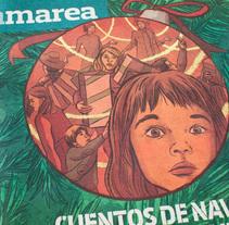 Cuentos de Navidad en El Corte Inglés. Um projeto de Design e Ilustração de María Castelló Solbes         - 17.01.2017