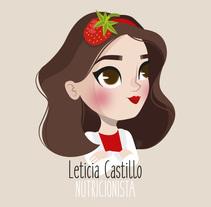 Ilustración para Leticia Castillo Nutrición. A Illustration project by lorena sanchez roman - 17-01-2017