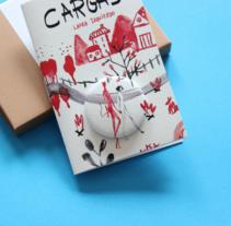 Cargas,librino con chapa. Editado por Chucherías de arte. A Illustration project by Laura Izquierdo Hernández         - 18.01.2017
