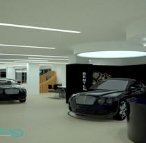 Sala de Ventas Boutique. Um projeto de 3D, Arquitetura e Design de interiores de Daniela Águila - 15-01-2017