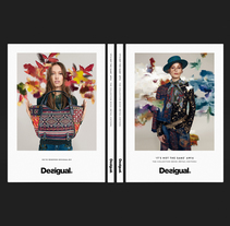 The Collection Book AW16 Desigual. A Art Direction, and Editorial Design project by Astrid Ortiz         - 22.01.2016