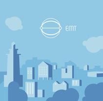 EMT Málaga. A Illustration, Br, ing&Identit project by Esteban Zamora Voorn         - 22.01.2017