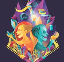 Go Design- Art. Un proyecto de Ilustración, Br, ing e Identidad, Diseño de personajes, Comic y Arte urbano de Tavo Santiago         - 24.01.2017