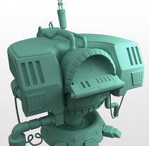 Hard surface terminal. Un proyecto de 3D de Ángela Medina Agulló         - 09.01.2017