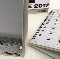 Calendario 2017 La imprenta CG. Um projeto de Design de produtos de imprentacg         - 26.01.2017