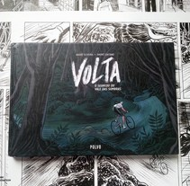 Volta: O Segredo do Vale das Sombras. A Comic project by André Caetano - 21-05-2015