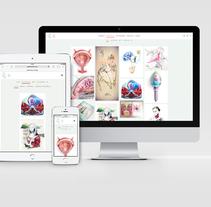 Diseño Web. Un proyecto de Diseño y UI / UX de Giselle P Vitali Di Maria         - 30.11.2016
