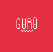 GURÜ: imagen corporativa. A Design, Art Direction, Br, ing, Identit, Graphic Design, Marketing, Packaging, Product Design, T, pograph, and Calligraph project by Teresa Ortiz Martínez - 13-02-2017