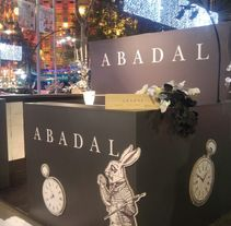 creación stand shopping nigth barcelona 2016 , para Abadal . A Design, Br, ing, Identit, Events, Cooking&Interior Design project by Andreu Boluda         - 30.11.2016