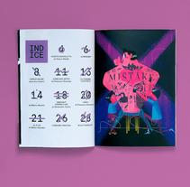 MYAU ZINE - Nº4. Un proyecto de Ilustración, Dirección de arte, Diseño de personajes y Diseño editorial de Jhonny  Núñez - Martes, 07 de febrero de 2017 00:00:00 +0100