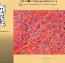 Web con catálogo de productos para Tall Taller. Un proyecto de Desarrollo Web de rseoaneb - 15-06-2014