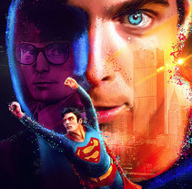 Superman / 80s. A Design, Advertising, and Art Direction project by Vikö Sviäs         - 13.02.2017