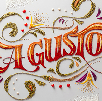 A Gusto. A Crafts, Cooking, Graphic Design, T, pograph, Writing, and Calligraph project by Panco Sassano - Sep 25 2014 02:59 PM