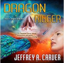 Mis Portadas de ciencia ficción como las de Jeffrey A. Carver y otros. Un proyecto de Diseño, Ilustración y Bellas Artes de Magdalena Almero Nocea         - 14.02.2017