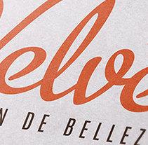 Salón de Belleza Velvet. Um projeto de Design e Design gráfico de San Gráfico         - 15.02.2017