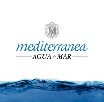 Campaña publicitaria para Mediterránea Agua de Mar. Un proyecto de 3D, Diseño gráfico y Vídeo de Luis Cuevas - 14-02-2013