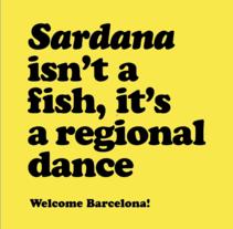 Welcome Barcelona. Um projeto de Br, ing e Identidade e Design gráfico de Alicia Gallego         - 08.06.2015