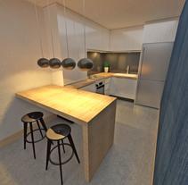 COcinas.. Un proyecto de Arquitectura, Diseño de muebles, Diseño industrial y Arquitectura interior de Alejandro Fernández Da cunha  - 15-02-2017