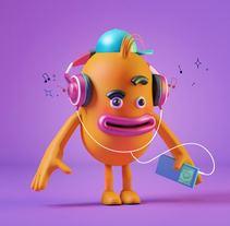 Introducción exprés al 3D: de cero a render con Cinema 4D. Un proyecto de 3D, Diseño de personajes y Diseño gráfico de Gustavo Castellanos - 18-02-2017