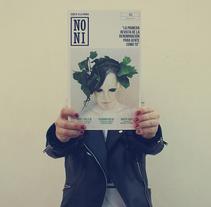 Revista NONI . Un proyecto de Fotografía, Br, ing e Identidad, Diseño editorial y Diseño gráfico de Mawi Dominguez Jorge         - 18.02.2017