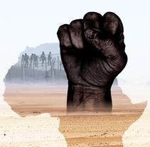 """Diseño gráfico del poster y la carátula del DVD para el documental """"Las Lágrimas de África"""". Um projeto de Direção de arte e Design gráfico de Nacho Pons - 20-07-2016"""