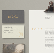 Evoca Editorial. A Art Direction, Br, ing, Identit, Editorial Design, Graphic Design, Web Design, Writing, and Naming project by Treceveinte  - 21-02-2017