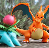 Pokémon Battles . Um projeto de Design, Fotografia, Design gráfico, Design de cenários, Design de brinquedos e TV de Joan Marc Ferret         - 23.02.2017