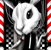 White Rabbit. Un proyecto de Ilustración de Joaquín  Rodríguez - 24-02-2017