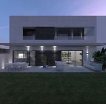 VIVIENDA. Un proyecto de 3D, Arquitectura, Arquitectura interior e Infografía de TATIANA GARCIA MADERUELO         - 27.02.2017