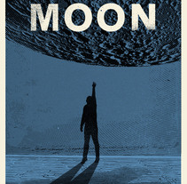 ESCAPE TO THE MOON. A Illustration, and Graphic Design project by Federico Sabater         - 02.03.2017