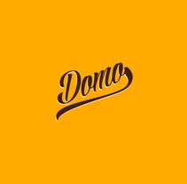"""Domo """"Burgers & Sandwiches"""". Un proyecto de Diseño, Dirección de arte, Gestión del diseño y Diseño gráfico de Montenegro Creative Studio  - 06-03-2017"""