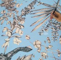 estampado hojas. A Illustration project by Maica Gv         - 13.03.2017