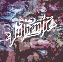 Lettering para remera | Authentic. A Costume Design, Fashion, Graphic Design, Writing, Calligraph, and Lettering project by Nicolás Romero         - 21.03.2017