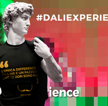 Dalí Experience - Salvador Dalí Exhibition – Palazzo Belloni, Bologna. A Illustration, Motion Graphics, Animation, Art Direction, Character Design, Creative Consulting, Graphic Design, Screen-printing, To, Design, Comic, and Video project by giuseppe celestino         - 01.11.2016