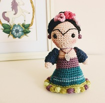 Frida - Amigurumi. A Crafts, To, and Design project by americalira         - 22.03.2017
