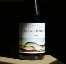 Blanc d'Orto Wine bottle test. Un proyecto de Fotografía de Gerard FFort - 24-03-2017