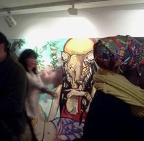 ART I DONA INcorporAR. ( EXposició col.lectiva Centre Cívic Barceloneta 8deMarç. Dona TReballadora. Mujeres DE ESAS. 2015). A Fine Art project by miyeguisensey         - 08.03.2015