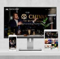 Web Martin Kovar. Un proyecto de Diseño Web de Isaac Peñarroya  - 28-03-2017