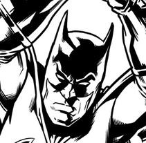 Batman Confidential: Rules of Engagement. Un proyecto de Diseño, Ilustración, Publicidad, Cine, vídeo, televisión, Animación, Diseño de personajes, Bellas Artes, Pintura, Comic y Cine de David Cabeza Ruiz         - 01.04.2017