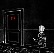 El Resplandor | ilustraciones (Capítulo 25). Um projeto de Ilustração e Artes plásticas de Vincenzo Imbimbo - 08-10-2015
