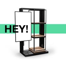 HEY! RETAIL FURNITURE. Un proyecto de Diseño, 3D, Diseño de muebles, Arquitectura interior, Diseño de interiores y Diseño de producto de GOEK.         - 11.04.2017
