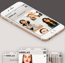 Proyecto MASTER WEB DESIGN (NOOLAS). Um projeto de UI / UX, Direção de arte e Web design de NEOLAND         - 20.04.2017