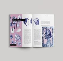 Propuesta de diseño editorial revista Eme . Un proyecto de Diseño, Diseño editorial, Bellas Artes y Diseño gráfico de cristina domingo parra         - 21.04.2017