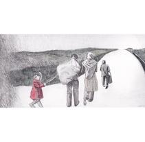 Hogar-Refugio. Una mirada al drama actual. Un proyecto de Ilustración y Bellas Artes de Noess          - 22.04.2017