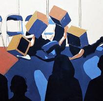 Proyecto en Escena. A Illustration project by Elvira Inés Lorenzo Lorenzo         - 24.04.2017